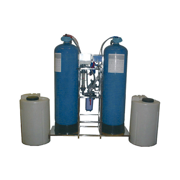 Nitrates removal / Demineralizer